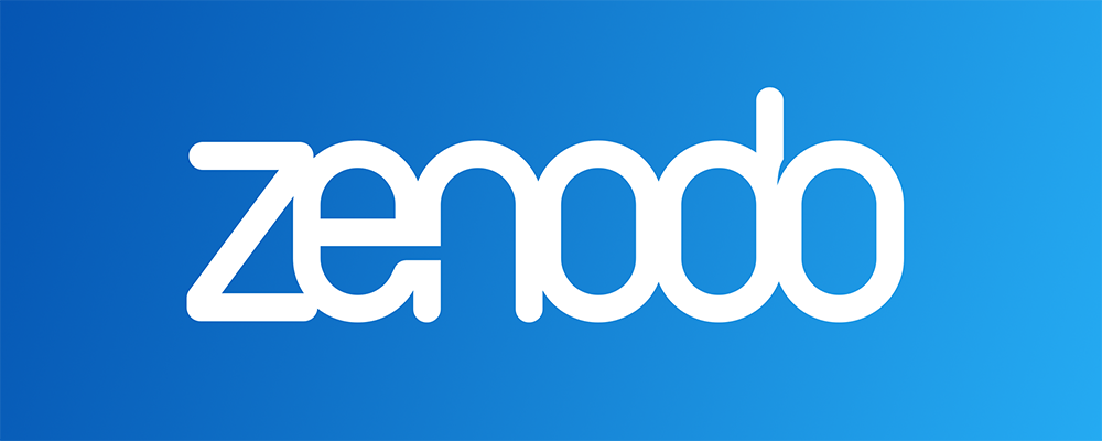 Logo of Zenodo